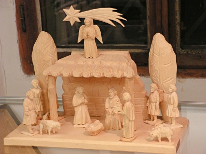 Betlém, Chistmas crib, Weihnachtskrippe