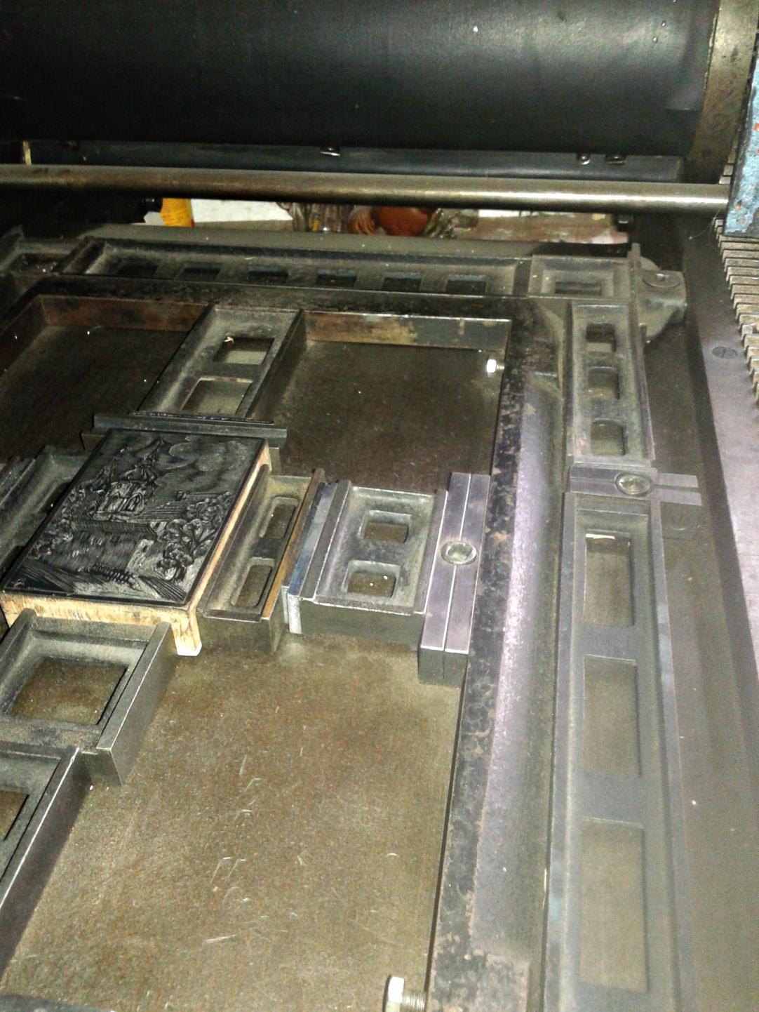 dřevoryt tisk, wood-carving printing, Holzschnitt drucken