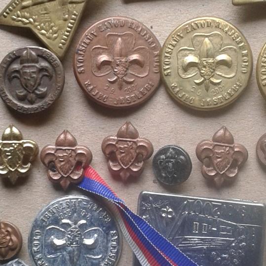 odzanky junák, badges, Abzeichen
