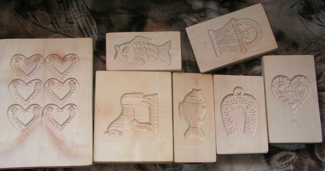 Perníkové formy, Gingerbread forms, Lebkuchen Formen