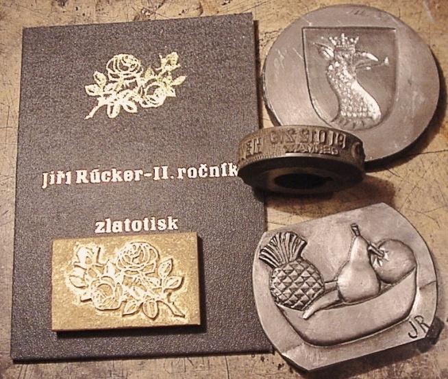 rytectví, engraving, Gravierung, Jiří Rücker