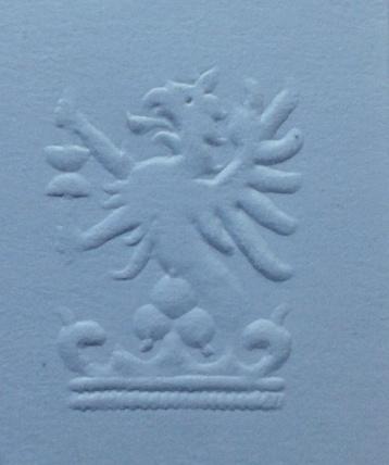 slepotisk, relief printing, Erhebung Drucken