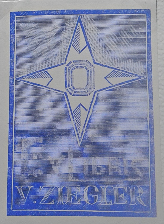 Tisk Ex Libris V. Ziegler